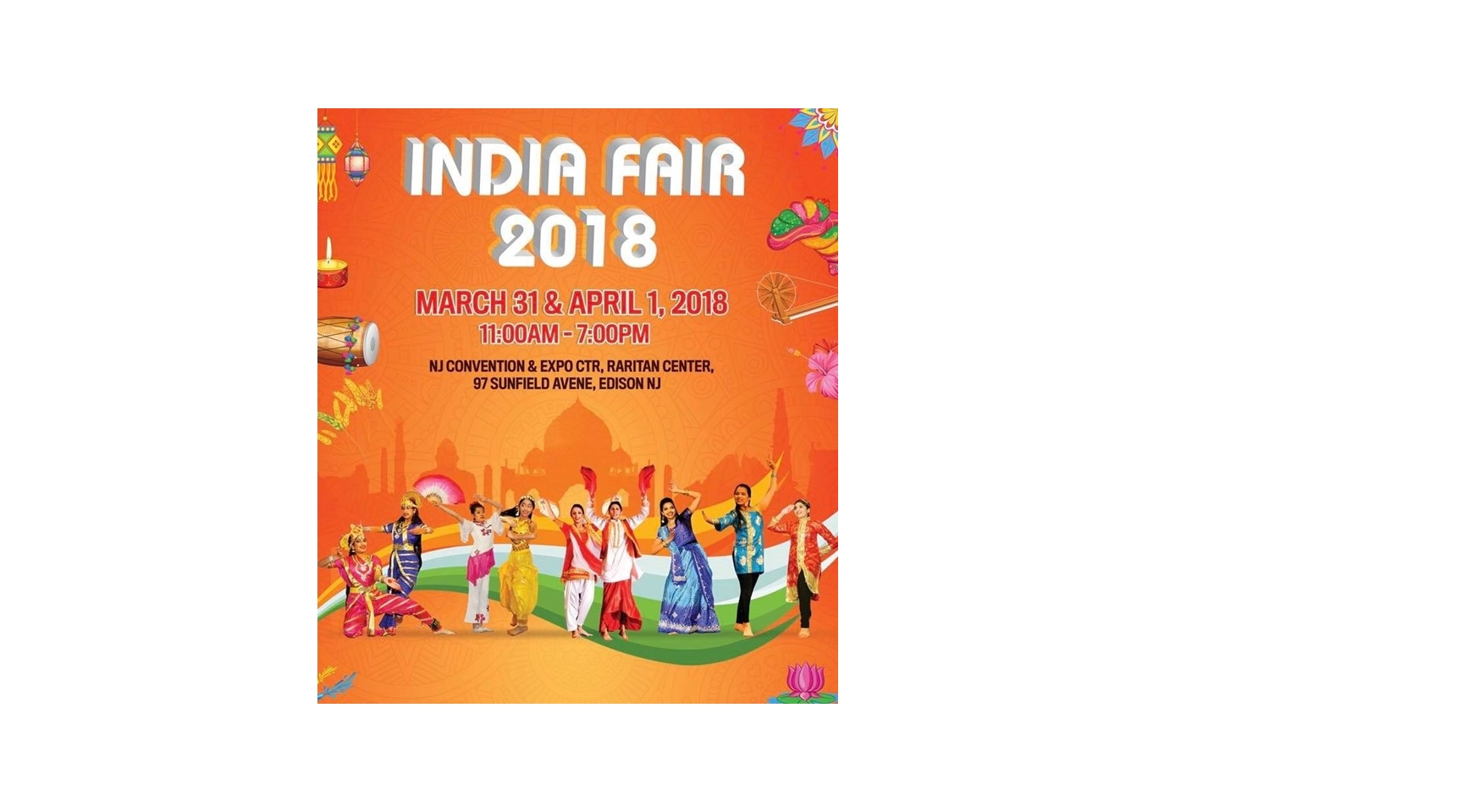 India Fair 2018 Buy Tickets Online | Edison , Sat , 2018-03-31 | ThisisShow