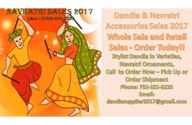 Navratri Dandia and Accessories Sales 2017 Buy Tickets Online | Bayonne , Wed , 2017-10-04 | ThisisShow