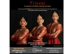 Triveni - A confluence of Tradition, Heritage and Legacy Buy Tickets Online | San Jose , Sat , 2018-06-16 | ThisisShow